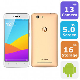 Gionee F103 Pro Smartphone (Android 6.0, 5.0 Inch, 16GB+3GB ,4G+WiFi)