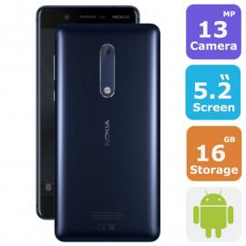 Nokia 5 Dual Sim Fingerprint Smartphone(Android 7.1,5.2 Inch, 4G+WiFi,16GB+2GB)