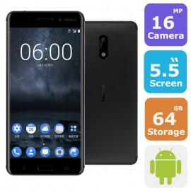 Nokia 6 Dual Sim Fingerprint Smartphone(Android 7.0,5.5 Inch, 4G+WiFi,64GB+4GB)
