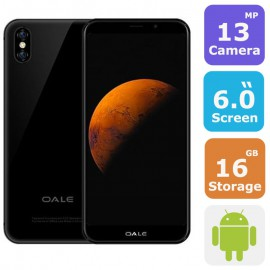 OALE X5 DUAL SIM SMARTPHONE(Android 6.0,6.0 Inch, 4G+WiFi,16GB+2GB,Fingerprint)