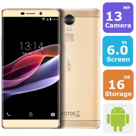 Xtouch R3 LTE Fingerprint Smartphone (Android 6.0, 6.0 Inch, 16GB+2GB ,4G+WiFi)